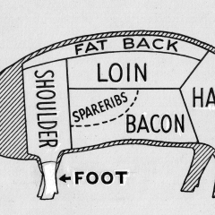 Pork feet