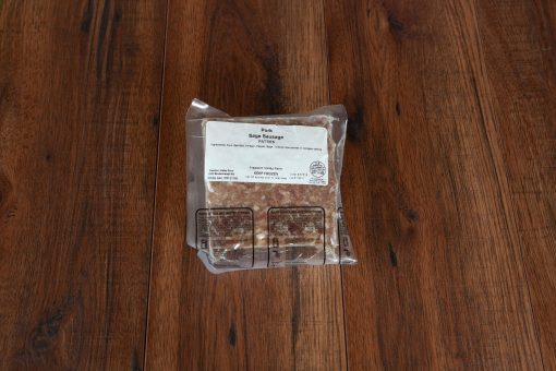 Sage sausage pattie package