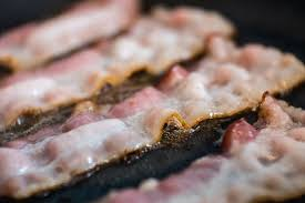 Wood-lot pastured bacon