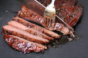 100% Grass fed flank steak