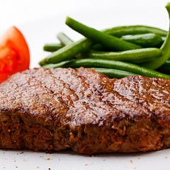 100% grass fed boneless sirloin steak