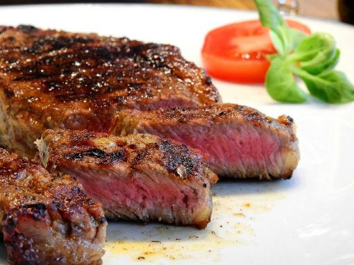 Grass fed delmonico steak