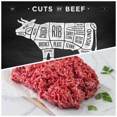 100% Grass Fed Beef Quarter