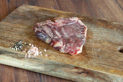 Grass fed t-bone steak