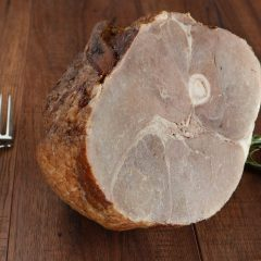 Wood-lot Pastured Non-GMO Half Ham
