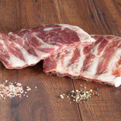 Wood-lot Pastured Non-GMO Pork Spareribs